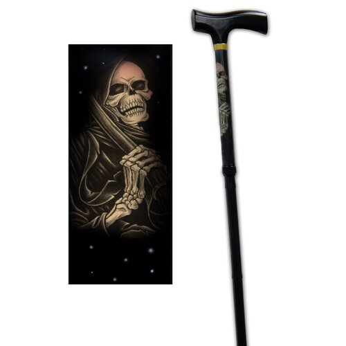Rebel Canes Grim Reaper Single Point Cane