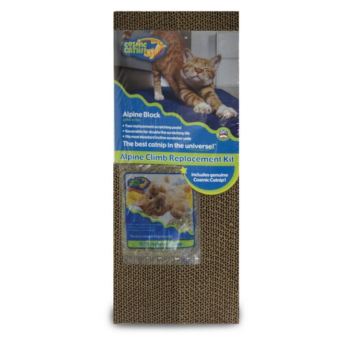 Cosmic Catnip Alpine Replacement Cat Scratcher