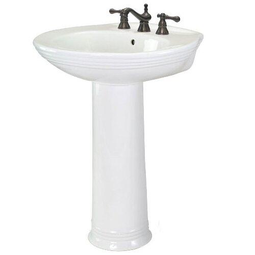 Foremost Aden Centers Pedestal Bathroom Sink Set