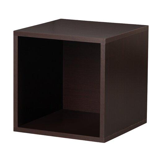 Foremost Modular Storage Open Cube in Espresso