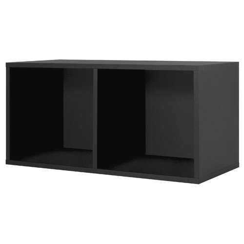 Modular Storage Large Divided Cube in Black