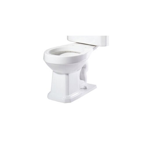 Foremost Series 1930 Vitreous China Round Toilet Bowl Only