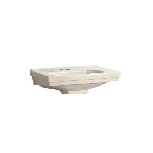Structure Pedestal Basin Bathroom Sink (Basin Only)
