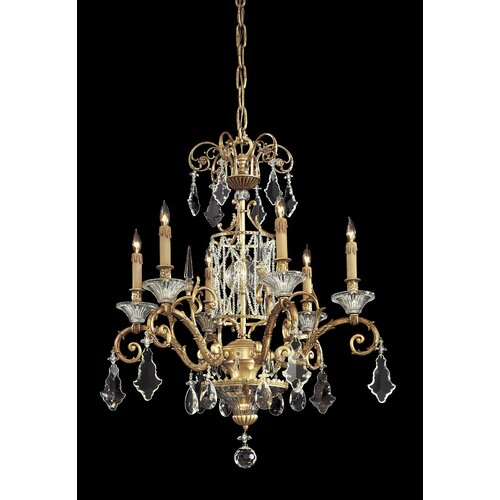Vintage 7 Light Chandelier
