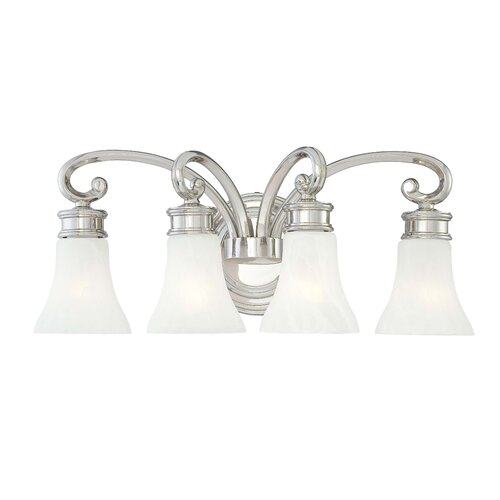 Metropolitan by Minka 4 Light Bath Vanity Light