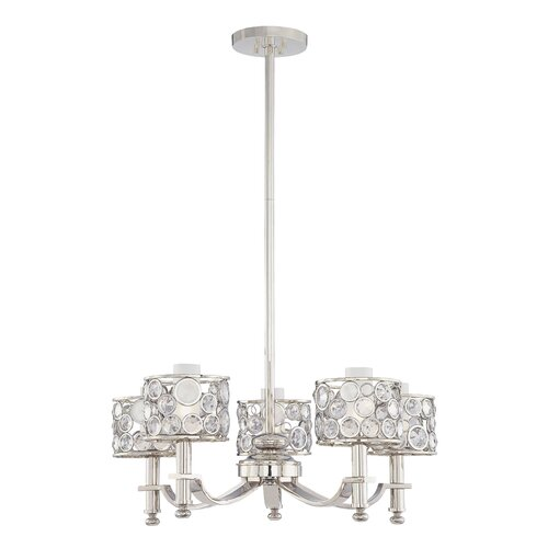 Metropolitan by Minka Magique 5 Light Chandelier