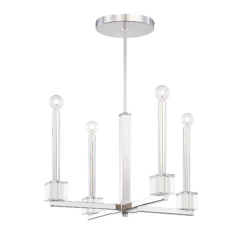 Metropolitan by Minka Chadbourne 4 Light Chandelier