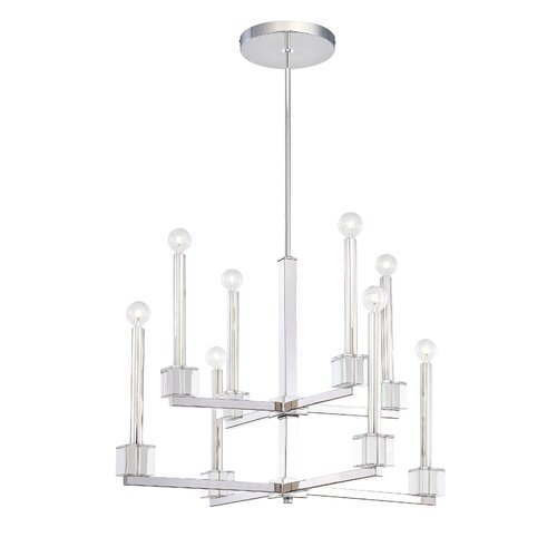 Metropolitan by Minka Chadbourne 8 Light Chandelier