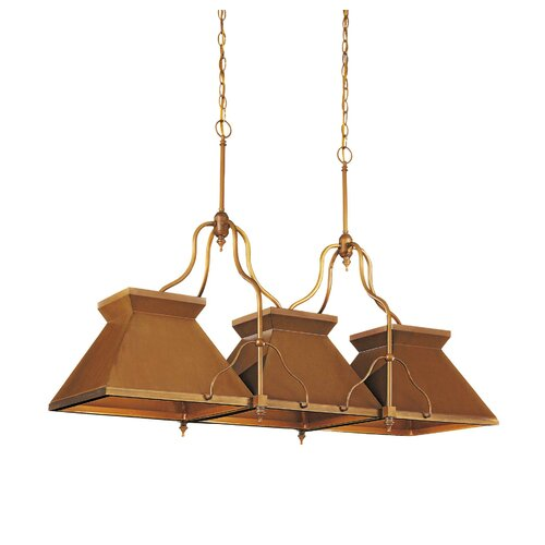 Metropolitan Family 3 Light Kitchen Pendant Lighting