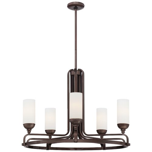 Industrial 5 Light Chandelier