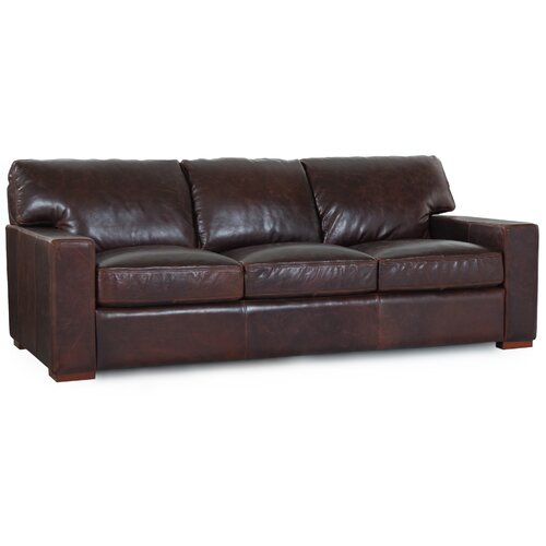 Grandeur Brussels Grain Leather Sofa