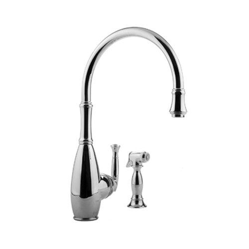 Graff Duxbury Single Handle Single Hole Kitchen Faucet with Side Spray