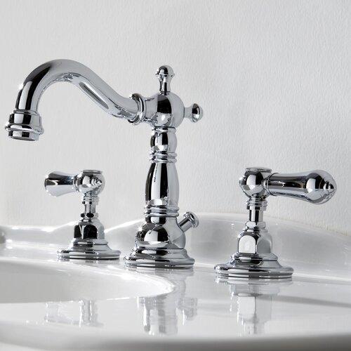 Graff Canterbury Widespread Bathroom Faucet with Double Metal Lever Handles