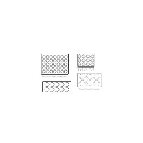 Mini Panettone Bread Non-Stick Silicone Mold