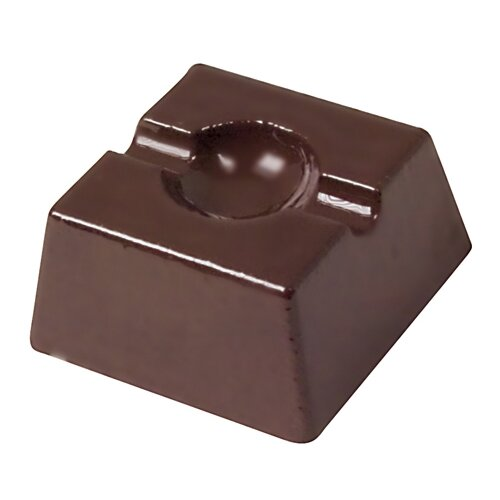 Indented Square Chocolate Mold
