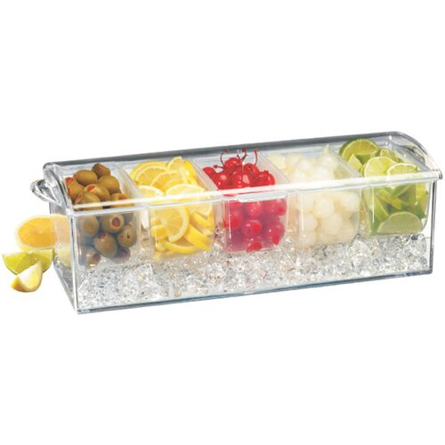 Paderno World Cuisine Bar Cocktail Container with Ice