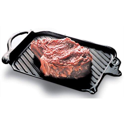 "Paderno World Cuisine Cast Iron 14.25"" Grill Pan"