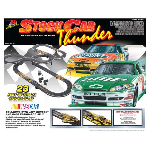 Life-Like Nascar Stock Thunder Car Set