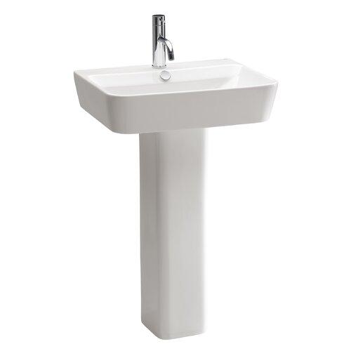bissonnet emma pedestal bathroom sink reviews wayfair