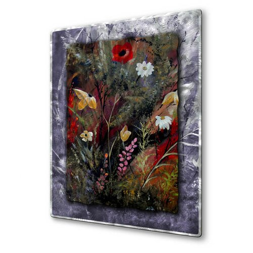 All My Walls 'Sweet Inspiration' by Ruth Palmer Original Painting on Metal Plaque