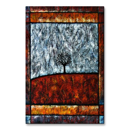 'Tree of Life' by Aimee Dieterle Original Painting on Metal Plaque