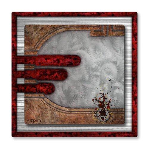 'Eternal Vigilance' by Duncan Asper Original Painting on Metal Plaque