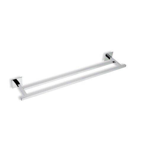 "Stilhaus by Nameeks Urania 22.5"" Wall Mounted Double Towel Bar"