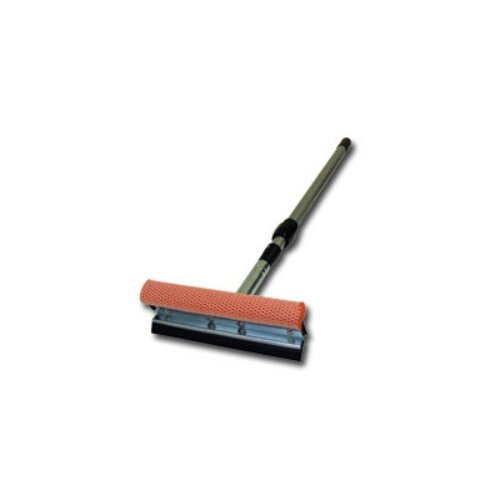 "Carrand Squeegee 8"" Metal Head With 21 - 36"" Ext Handle"