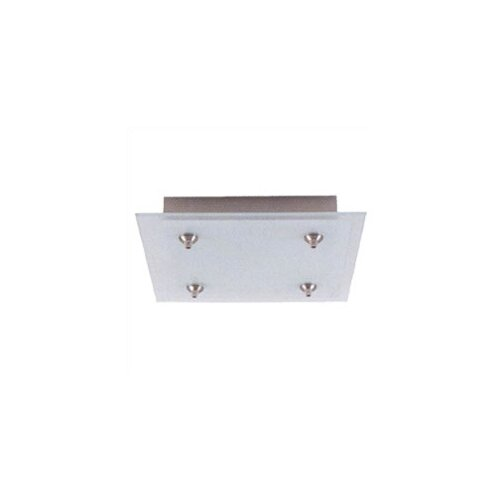 "LBL Lighting 12"" Square Fusion Jack Canopy for Four Pendant Configuration"