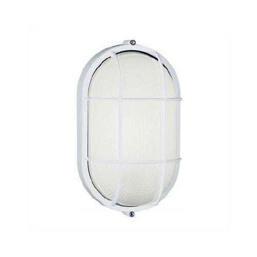 LBL Lighting Large Oval Outdoor Bulk Head Wall/Ceiling Mounted Lantern