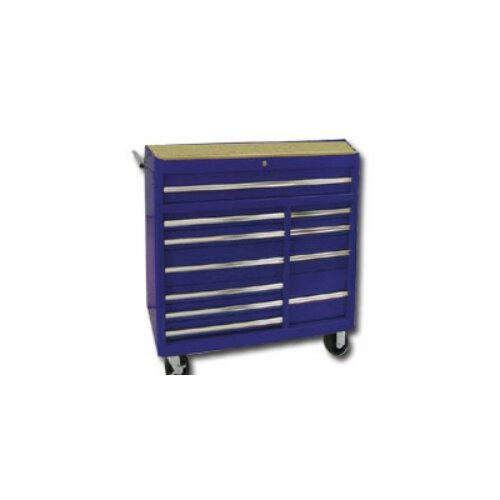 "International Tool Box 41.3"" Wide 11 Drawer Bottom Cabinet"