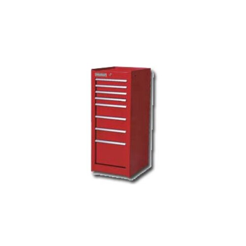 """International Tool Box 17"""" Wide 8 Drawer Tall H.D. Side Cabinet"""