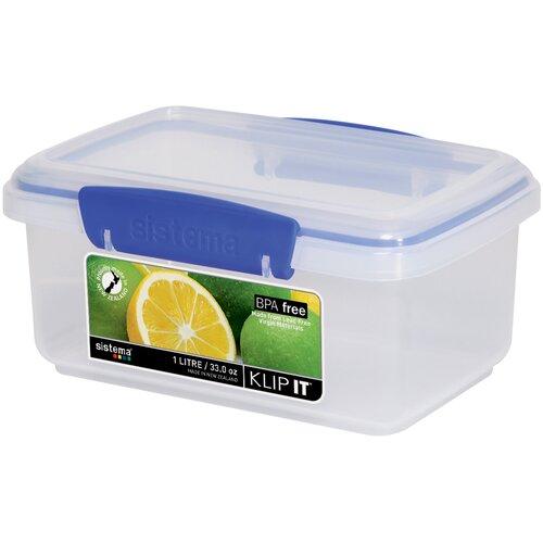 Klip It 33-Oz. Food Container