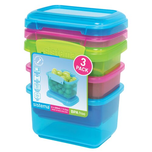 Snack Container (Set of 3)