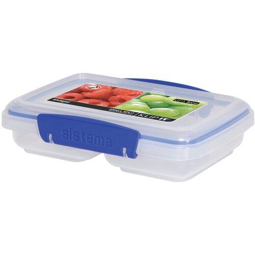 Klip It 11.8-Oz. Split Food Container