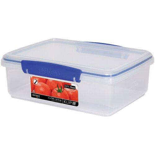 2-Liter Klip It Food Container