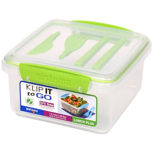 Klip It Lunch Plus To Go Container