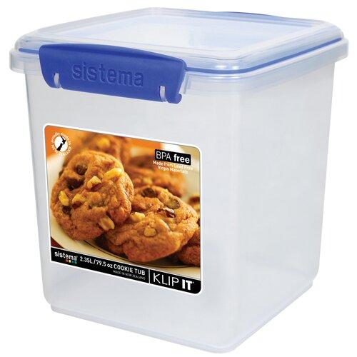 Klip It 2.5-Liter Cookie Tub