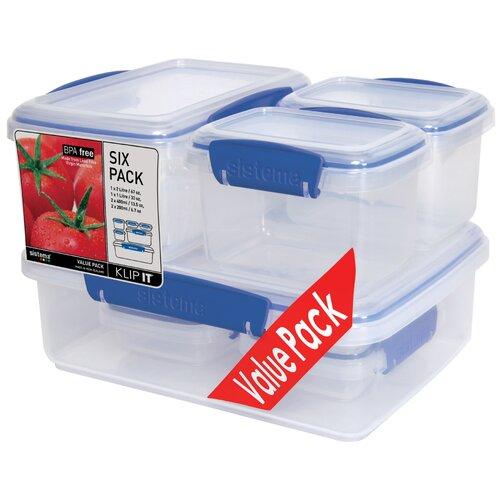 Klip It Value Container (Set of 6)