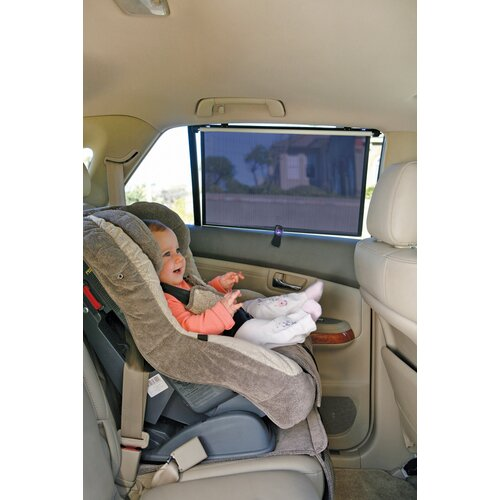 Dreambaby Extra-Wide Car Roller Shade for SUV's and Trucks