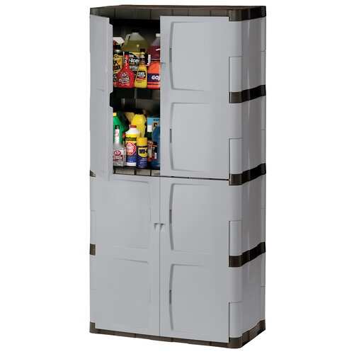 "Rubbermaid 72"" H x 36"" W x 18"" D Full Double Door Cabinet"