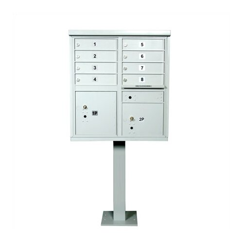 1570 Horizontal USPS Cluster Box Unit
