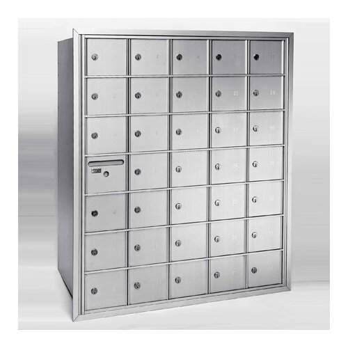Florence Mailboxes 2600 Centurian Rear Access Horizontal Mailboxes
