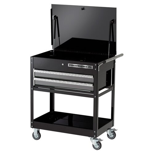 "KD Tools Gearwrench Xl 24"" Wide 2 Drawer Service Cart"