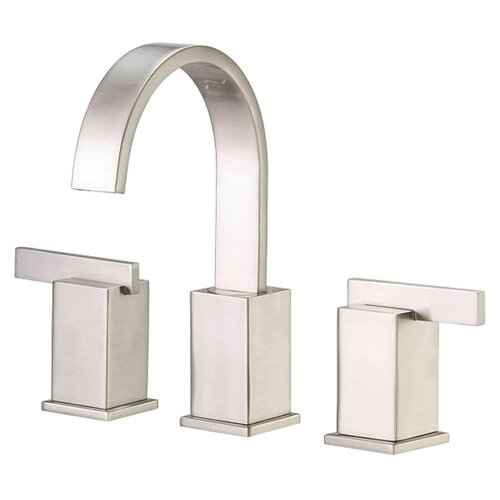 Sirius Widespread Bathroom Sink Faucet with Double Lever Handles