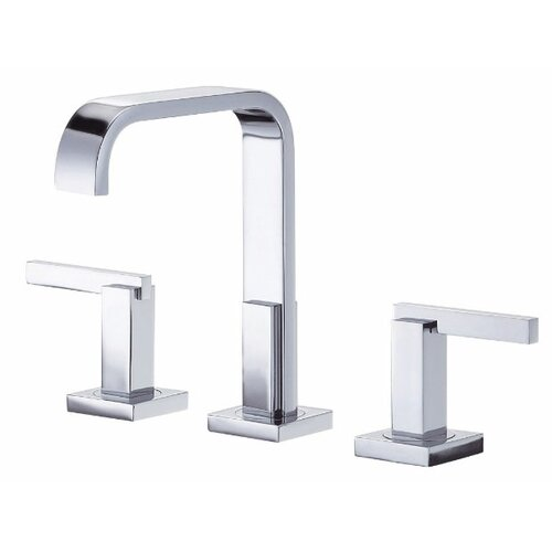 Sirius Widespread Bathroom Faucet with Double Lever Handles