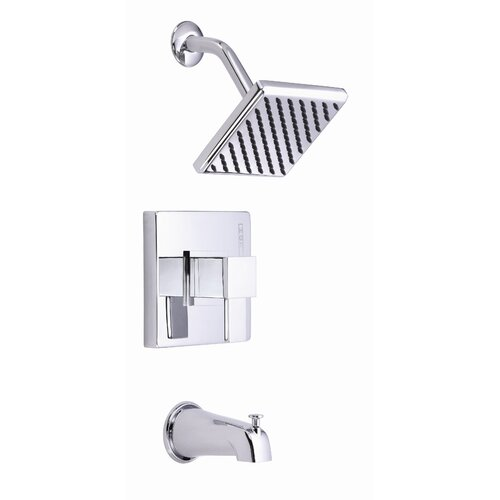 Danze® Reef Single Handle Pressure Balance Diverter Tub and Shower Faucet