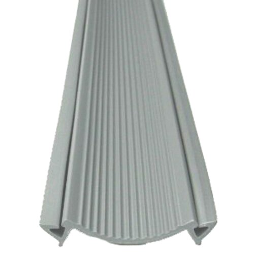 M-d Products Vinyl Seal Deluxe Threshold in Gray