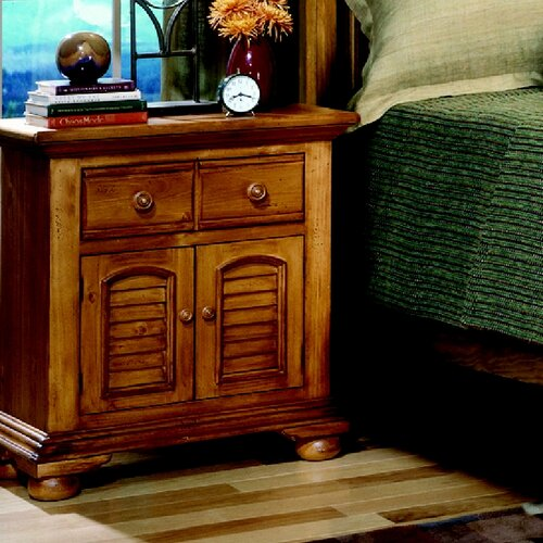 American Woodcrafters Ambleside Nightstand