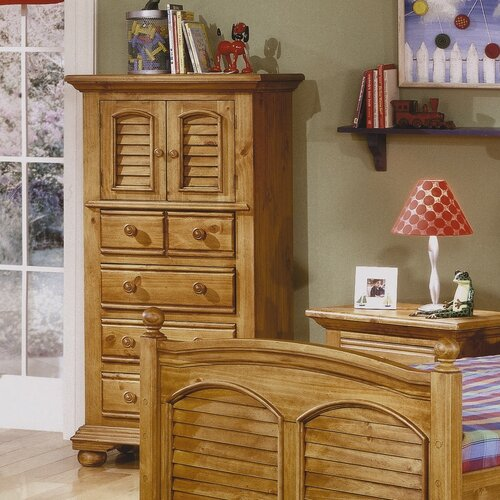 American Woodcrafters Ambleside 4 Drawer Lingerie Chest